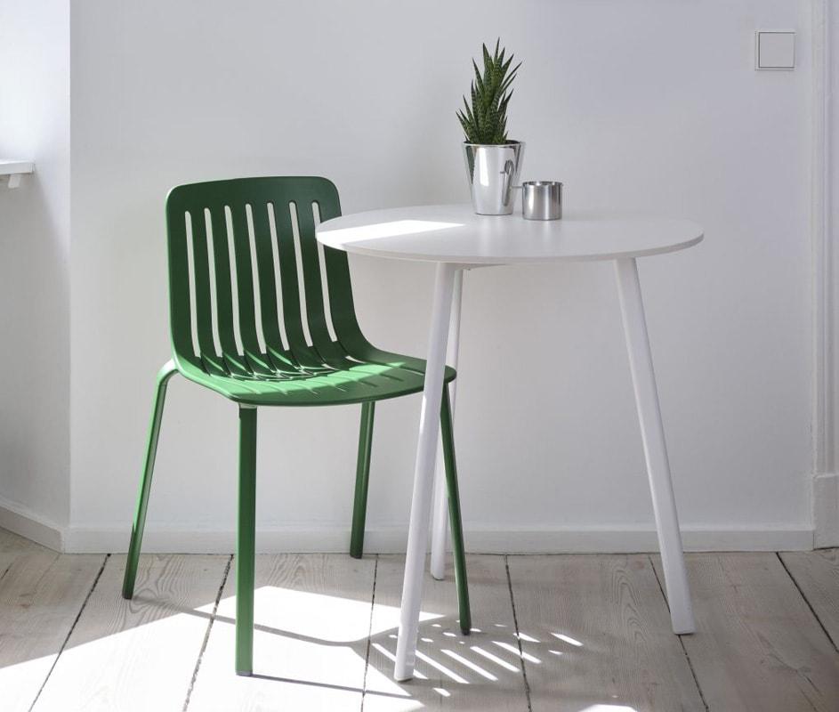 MAGIS Plato sedia alluminio green gallery