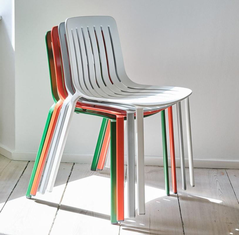 MAGIS Plato sedia alluminio impilabile gallery 2