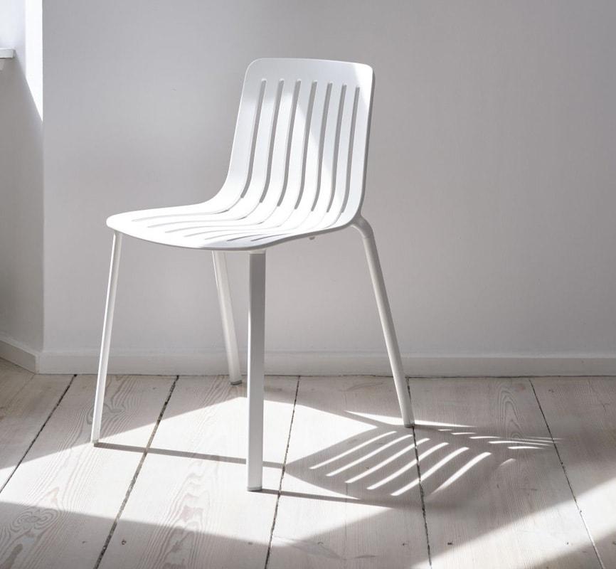 MAGIS Plato sedia alluminio impilabile gallery 4