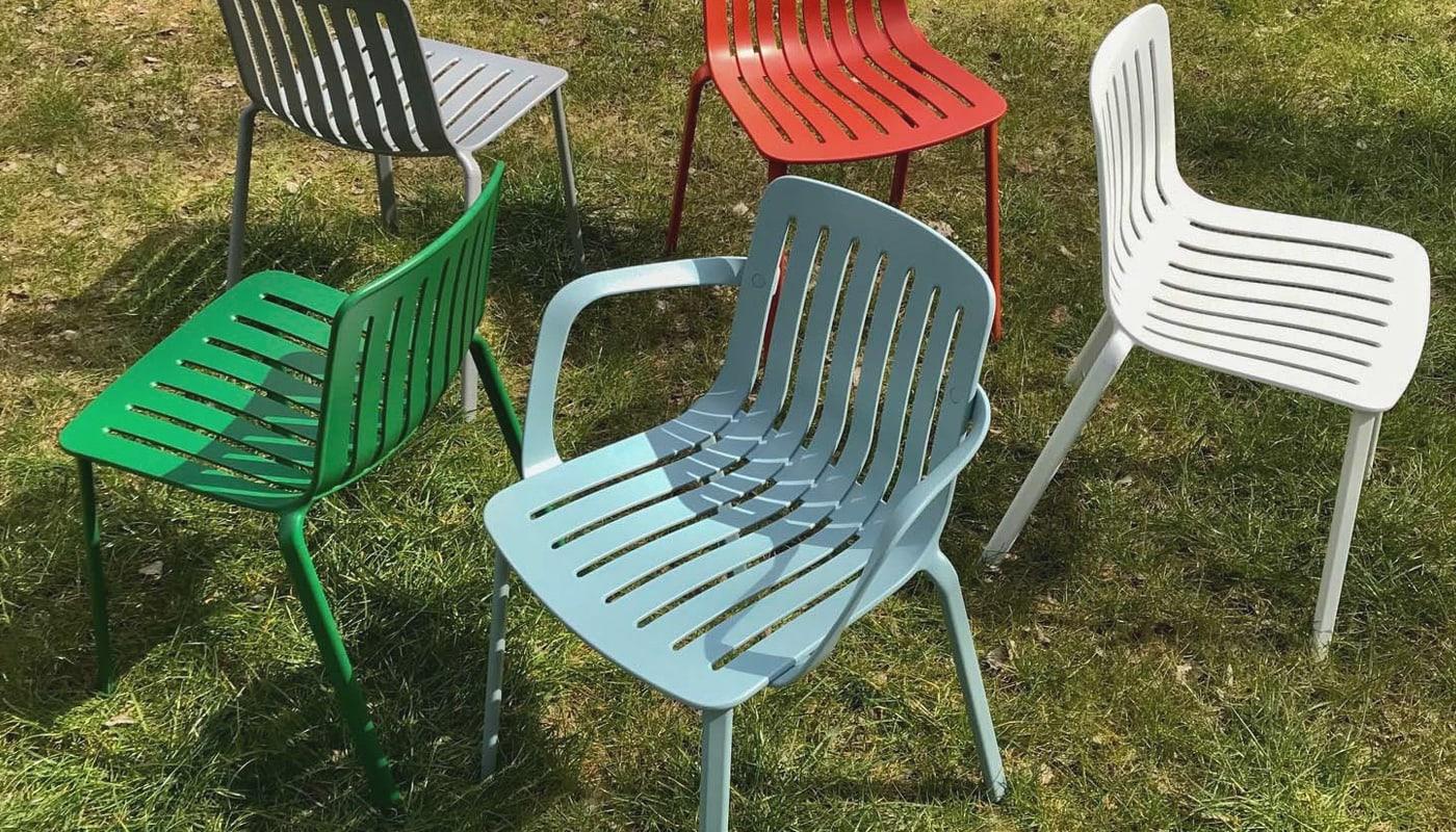 MAGIS Plato sedia alluminio outdoor gallery