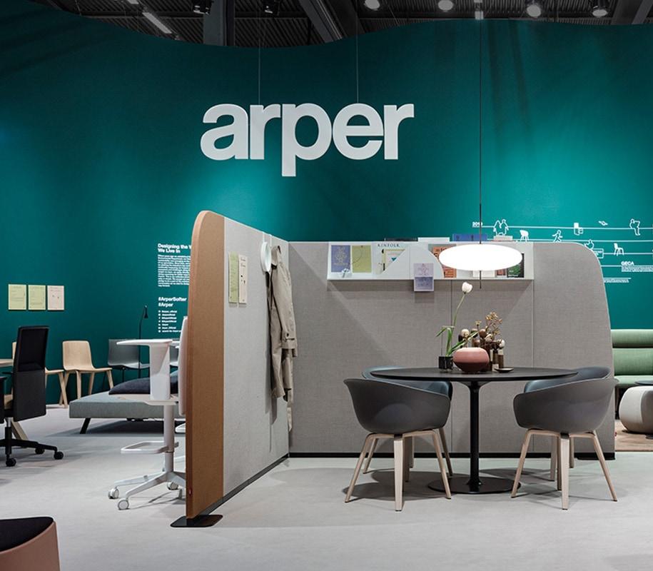 ARPER Duna02 seduta ospiti gambe legno gallery 8