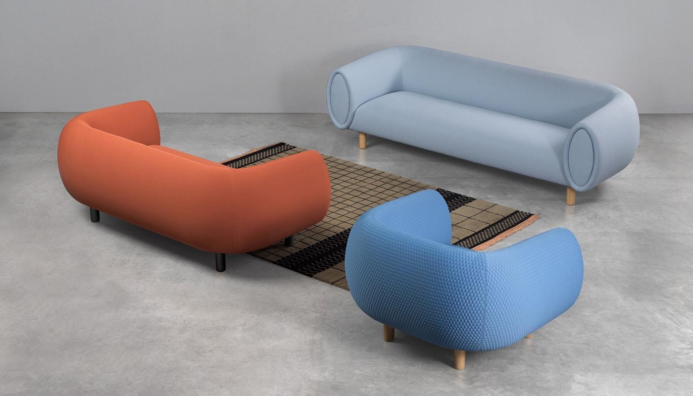 REXITE Tobi divano ecosostenibile gallery 2