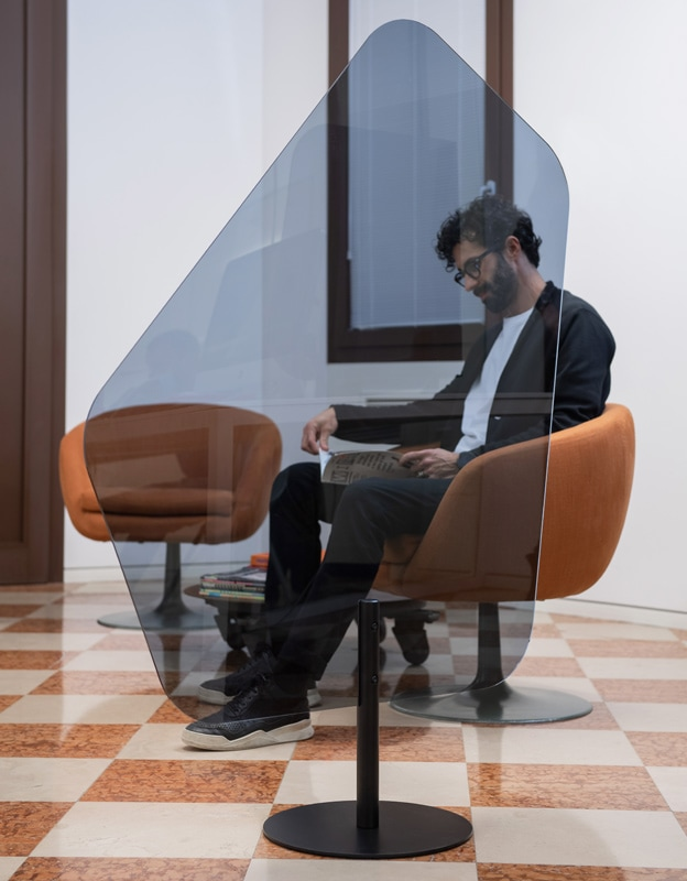 REXITE SCUDO Giovanni schermo protettivo plexiglass fume