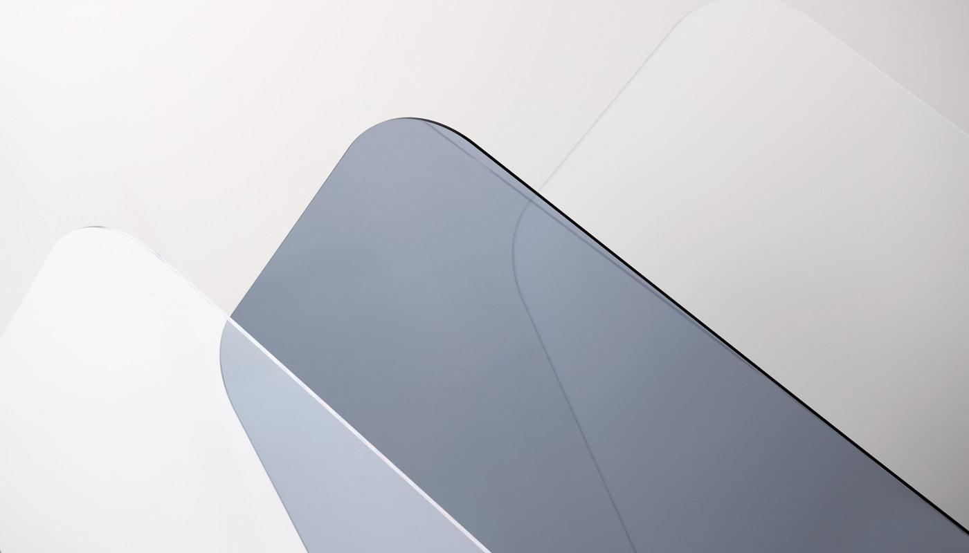 REXITE SCUDO schermo plexiglass finiture gallery