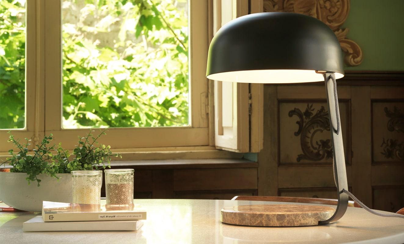 AROMAS del CAMPO Marbre lampada tavolo - gallery 2