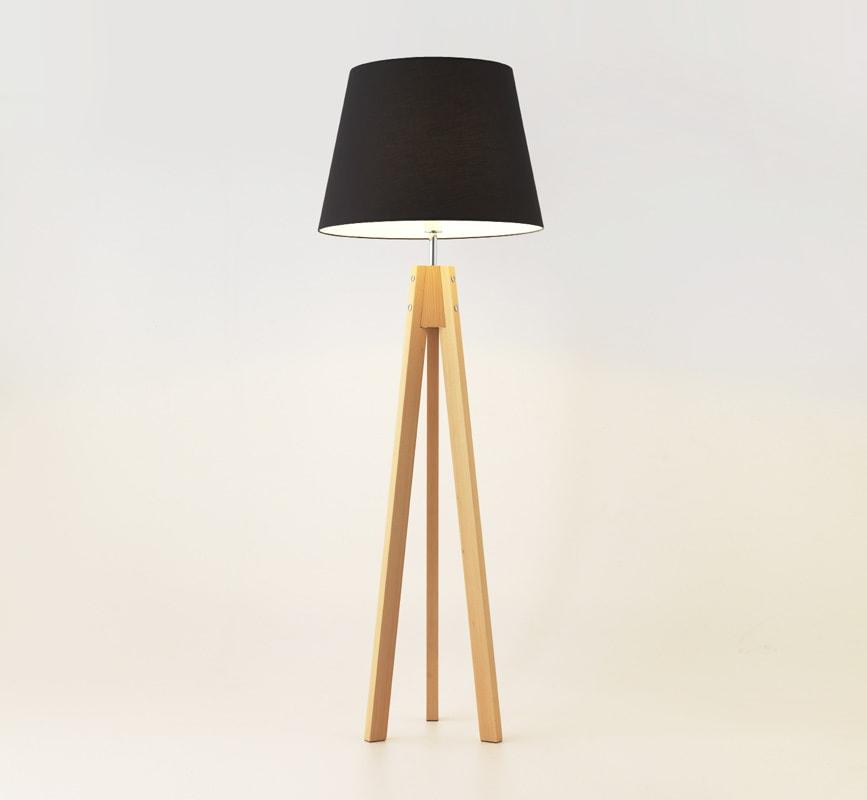 AROMAS del CAMPO TRIP lampada da terra gambe in legno gallery