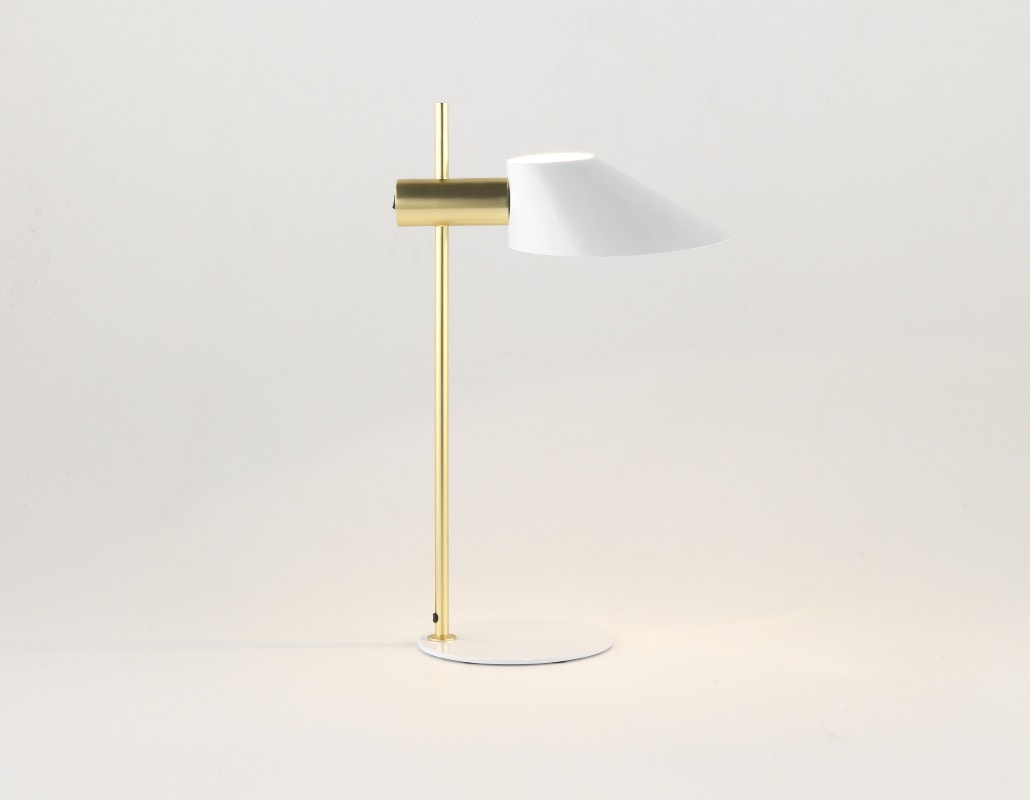 AROMASdelCAMPO Cohen GOLD lampada tavolo gallery 2