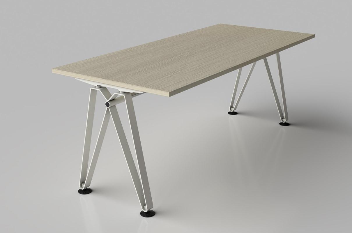 Della Chiara Diagramma tavolo riunione rettangolare gallery