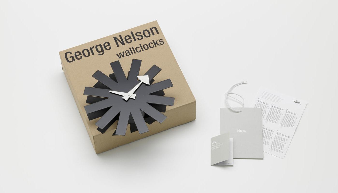 VITRA Asterisk Clock orologio parete gallery 2