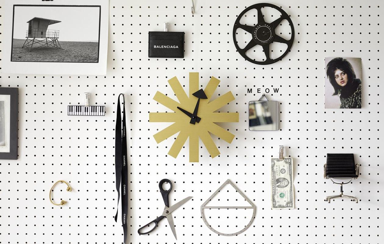 VITRA Asterisk Clock orologio parete gallery 3