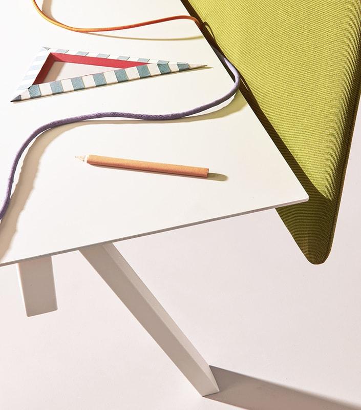 Pedrali Arki-Table Desk -pannello fonoassorbente - gallery 4