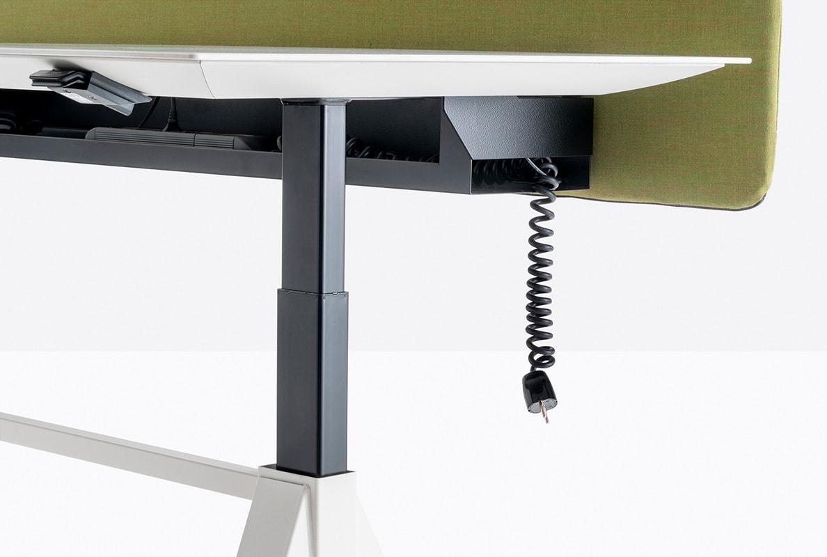 Pedrali Arki-Table Desk tavolo regolabile elettrico - gallery 5