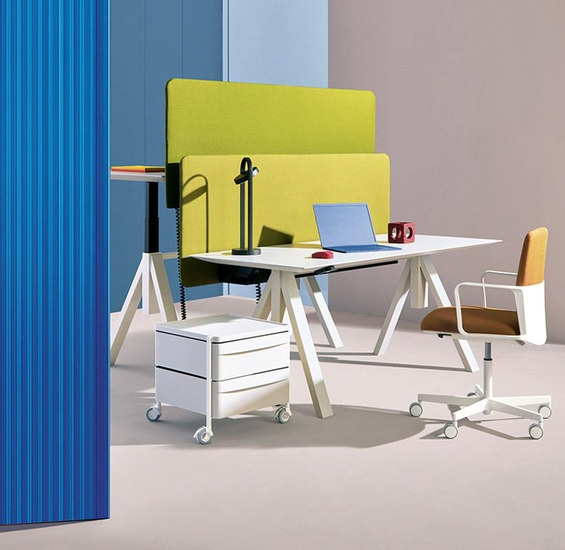 Pedrali Arki-Table Desk tavolo altezza regolabile - gallery 2