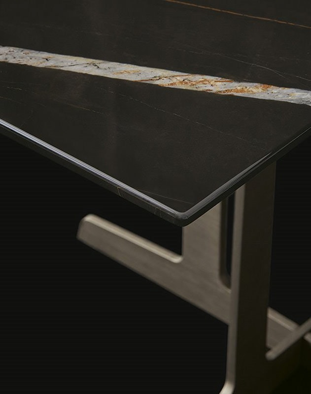 Poliform Westside tavolino base metallo gallery10
