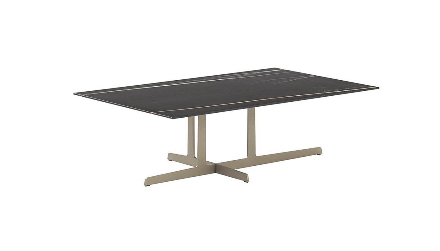 Poliform Westside tavolino base metallo gallery11