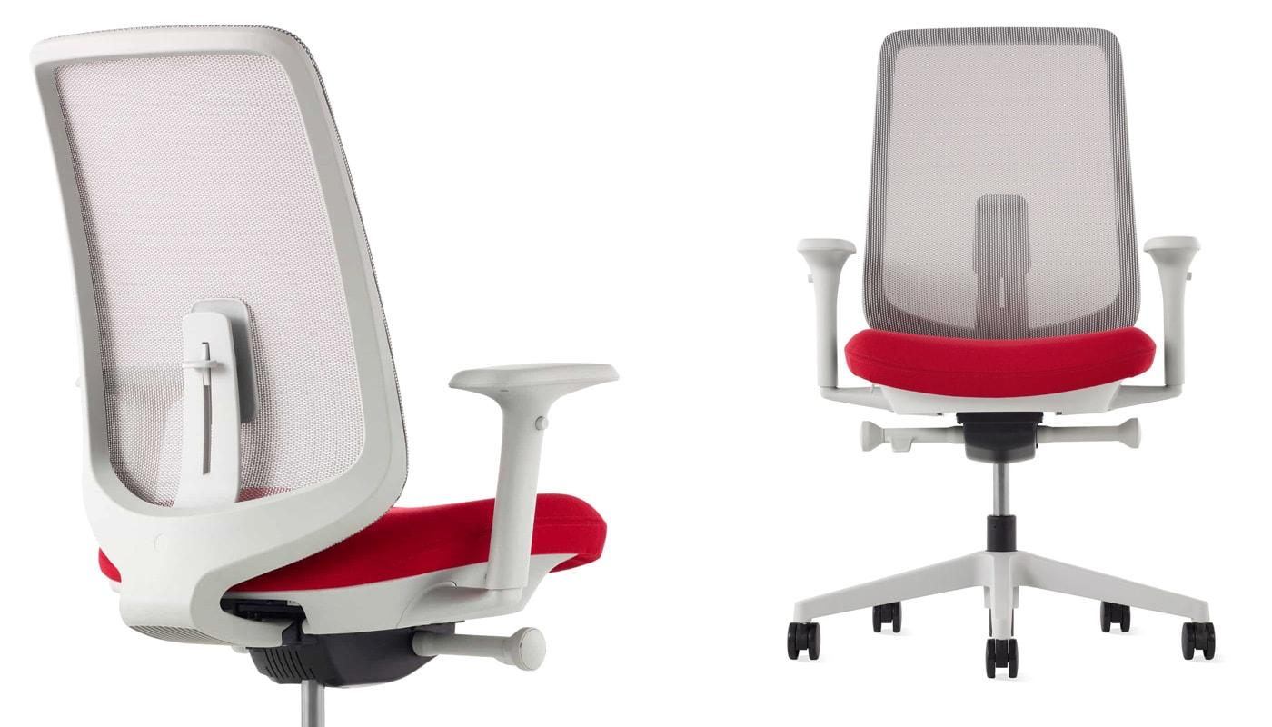 Herman Miller Verus sedia ufficio red - gallery