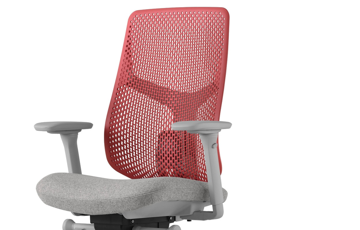 Herman Miller Verus sedia ufficio red - gallery2