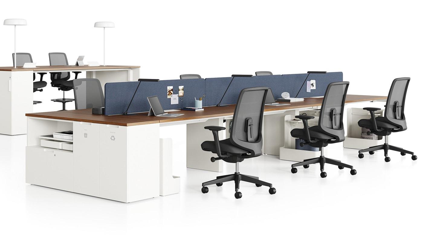 Herman Miller Verus sedia ufficio e sgabelli - gallery