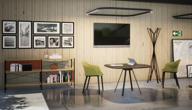 della chiara Tapas tavolo Aurora sedia riunioni - gallery