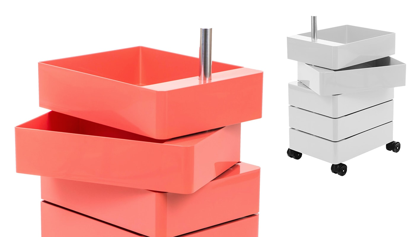 Magis 360 cassettiera rosa - gallery
