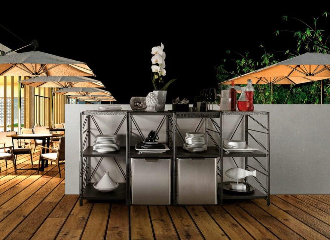Caimi Socrate Outdoor scaffale per esterno
