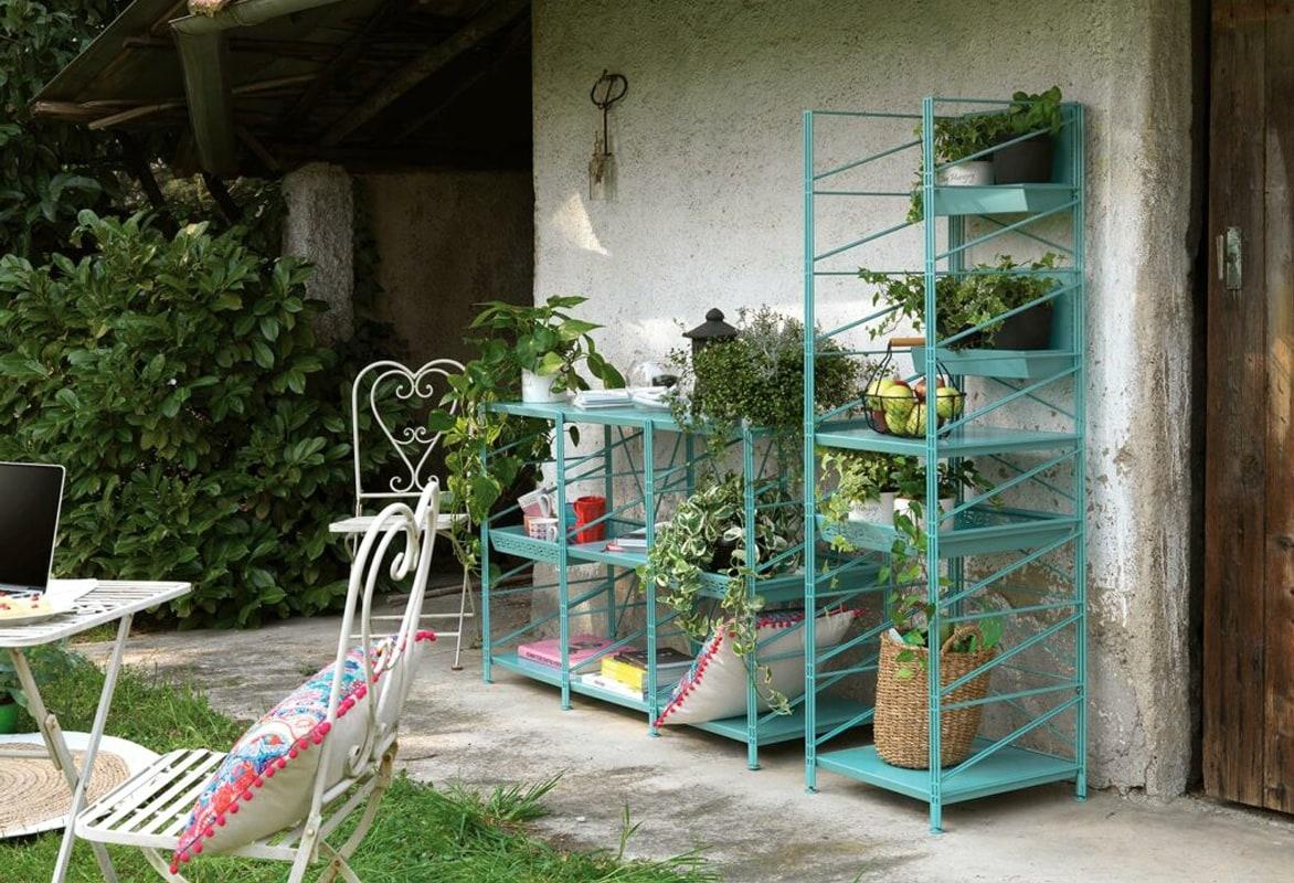 Caimi Socrate Outdoor scaffale per giardino