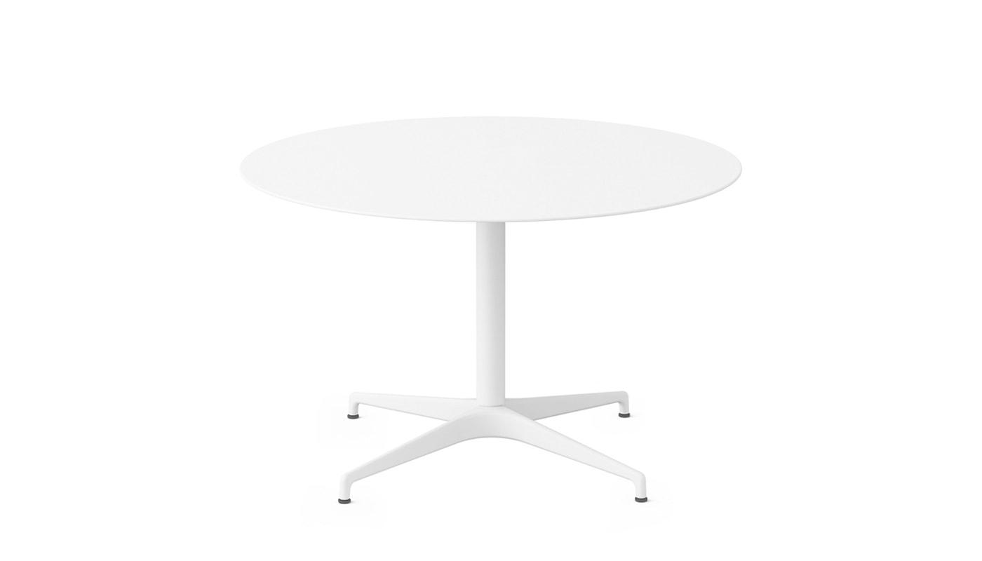 Herman Miller Civic tavolo tondo bianco per riunioni - gallery3