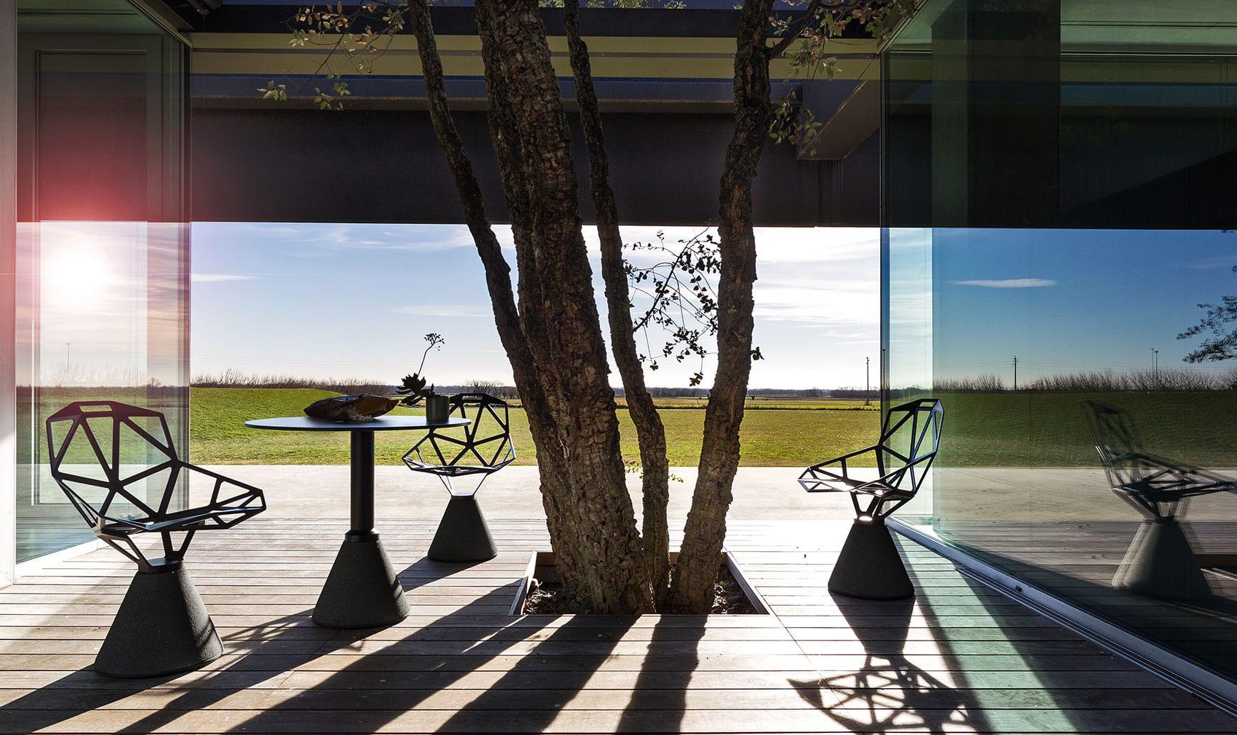 Chair_one sedia outdoor Magis, arredo esterni in vendita su store Della Chiara