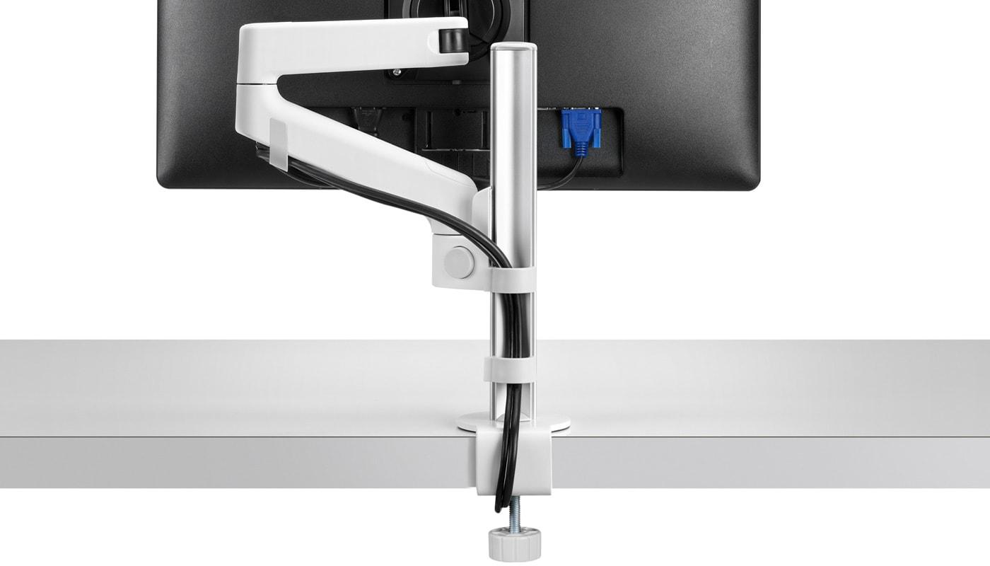 Herman Miller Lima braccio porta monitor bianco - gallery