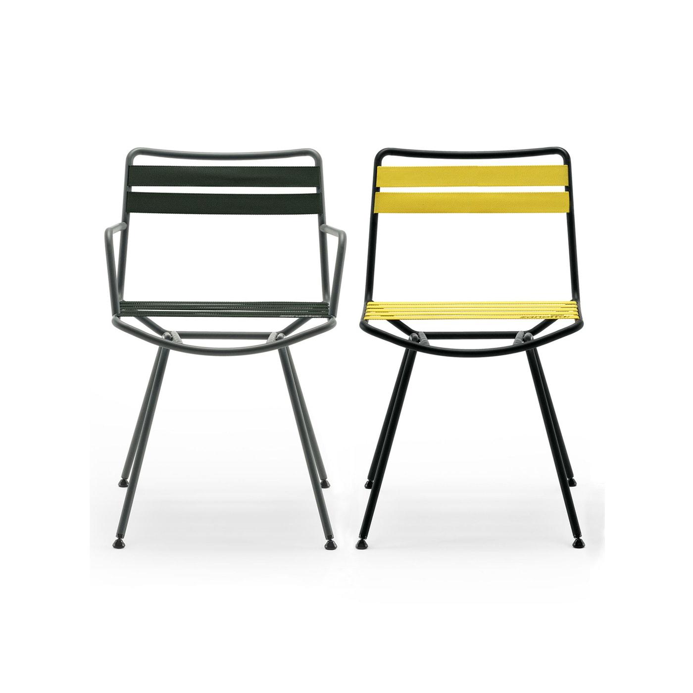 Zanotta Dan sedia con cinghie elastiche - vendita online